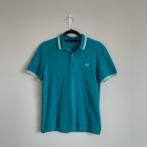 Fred Perry Teal Green Polo